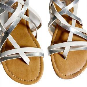 Steven Madden Girl's Gladiator Strappy Sandals NWT